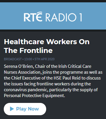 Healthcare Workers on the Frontline IACP RTE1
